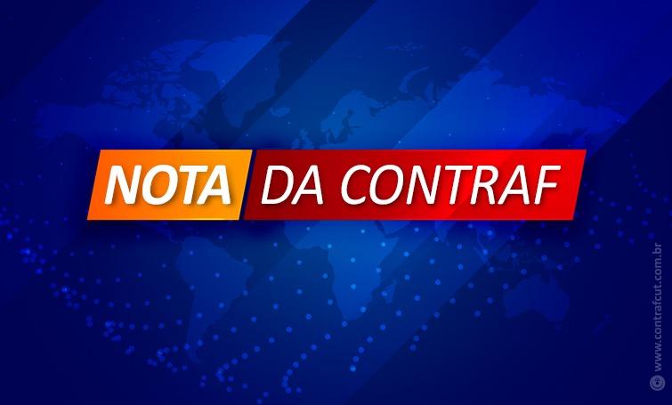 Imagem:Nota de Repúdio ao Banco Santander Brasil