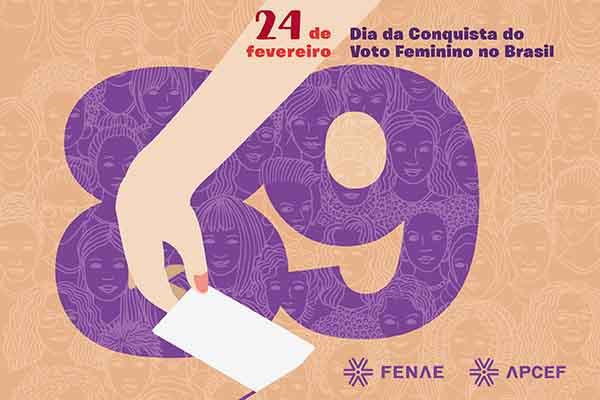 Imagem:Voto feminino: conquista do direito completa 89 anos nesta quarta (24)
