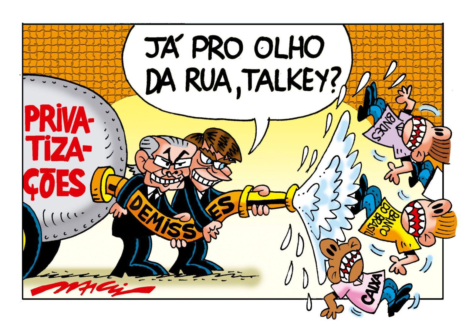 Imagem:Bolsonaro quer fechar agências e demitir funcionários do BB