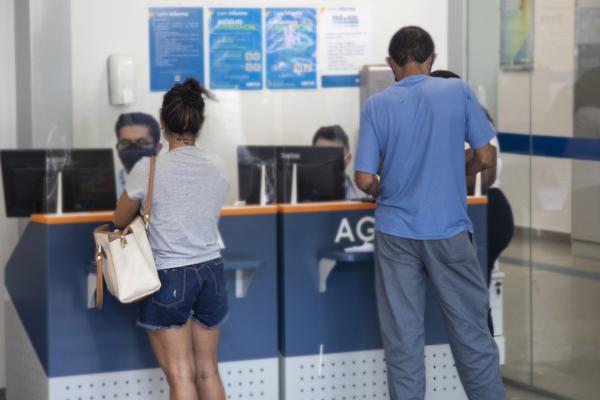 Imagem:Reportagem do RJTV mostra o esgotamento dos empregados Caixa durante a pandemia