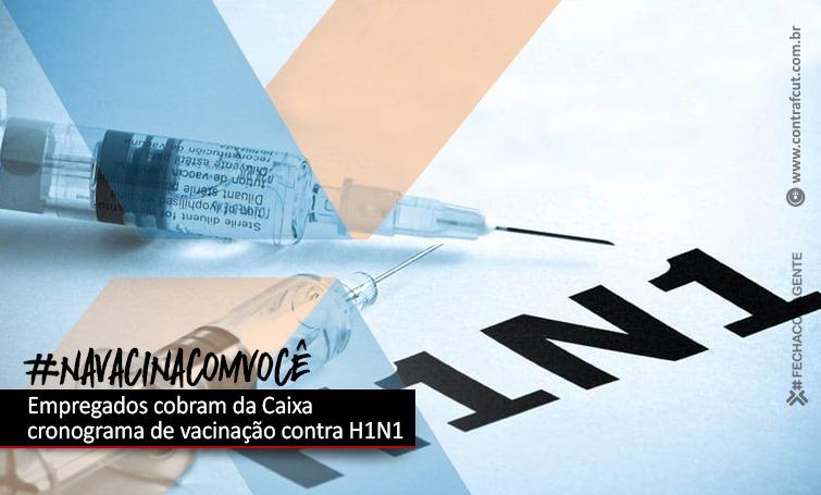 Imagem:CEE cobra da Caixa o cronograma de vacinação contra H1N1
