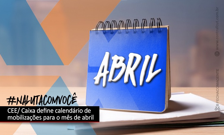 Imagem:CEE/Caixa define calendário de lutas para o mês de abril