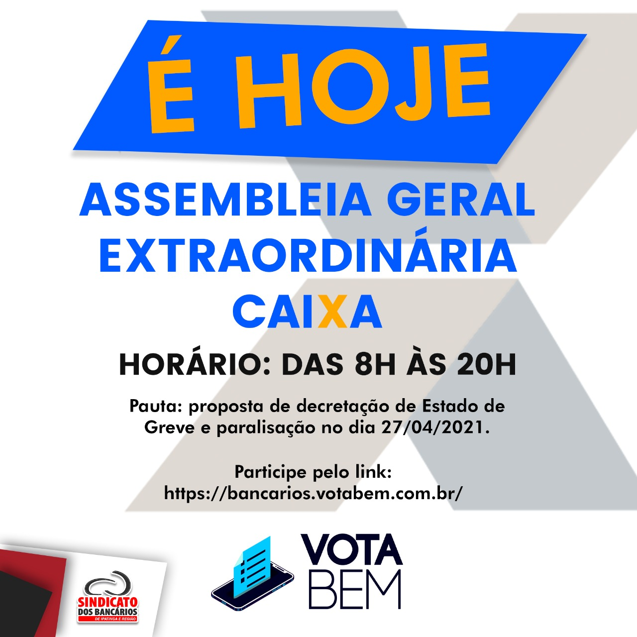 Imagem:Bancáriosda Caixa decidem sobre paralisação em assembleiahoje (22)