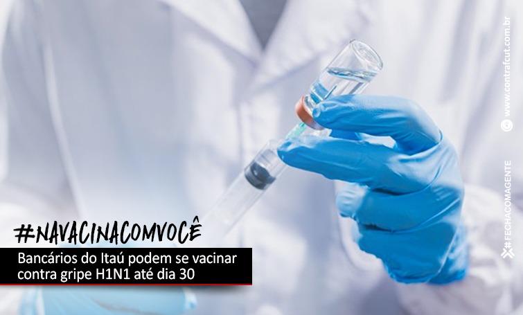 Imagem:Bancários do Itaú podem se vacinar contra gripe H1N1 até dia 30