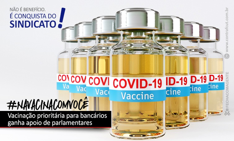 Imagem:Vacinação prioritária para bancários ganha apoio de parlamentares
